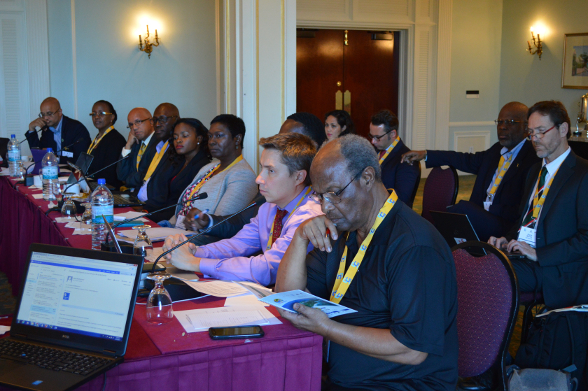 CSEF 2017 delegates during a working group session on Monday, January 23.